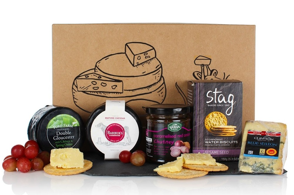 The Cheese Box Hamper from Virginia Hayward