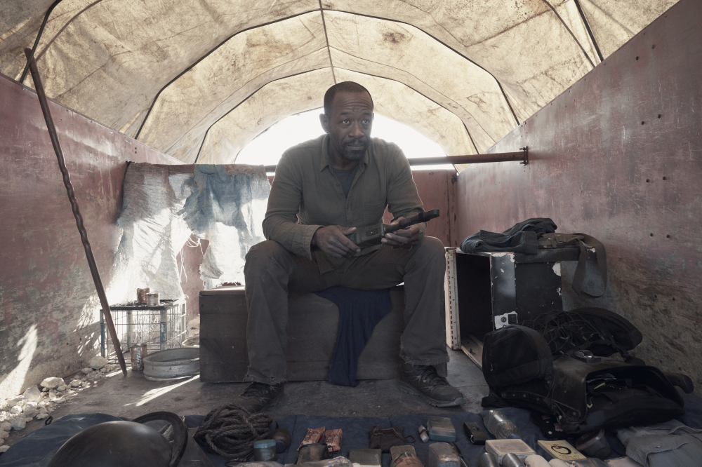 Lennie James joins the show as Morgan Jones in the series' fourth season