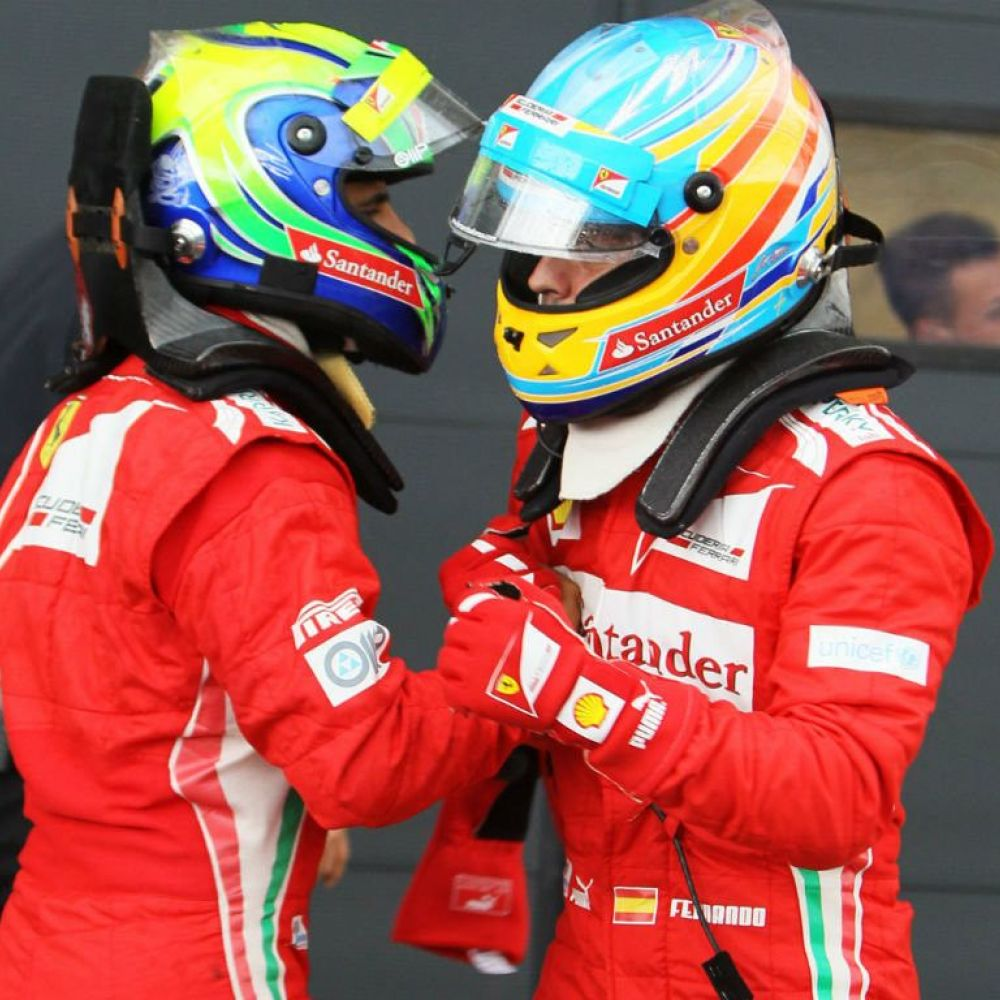 Massa: Alonso is as talented as Schumacher