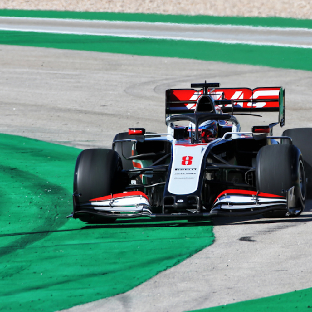 Haas 'rolling dice' due to overheating suspension