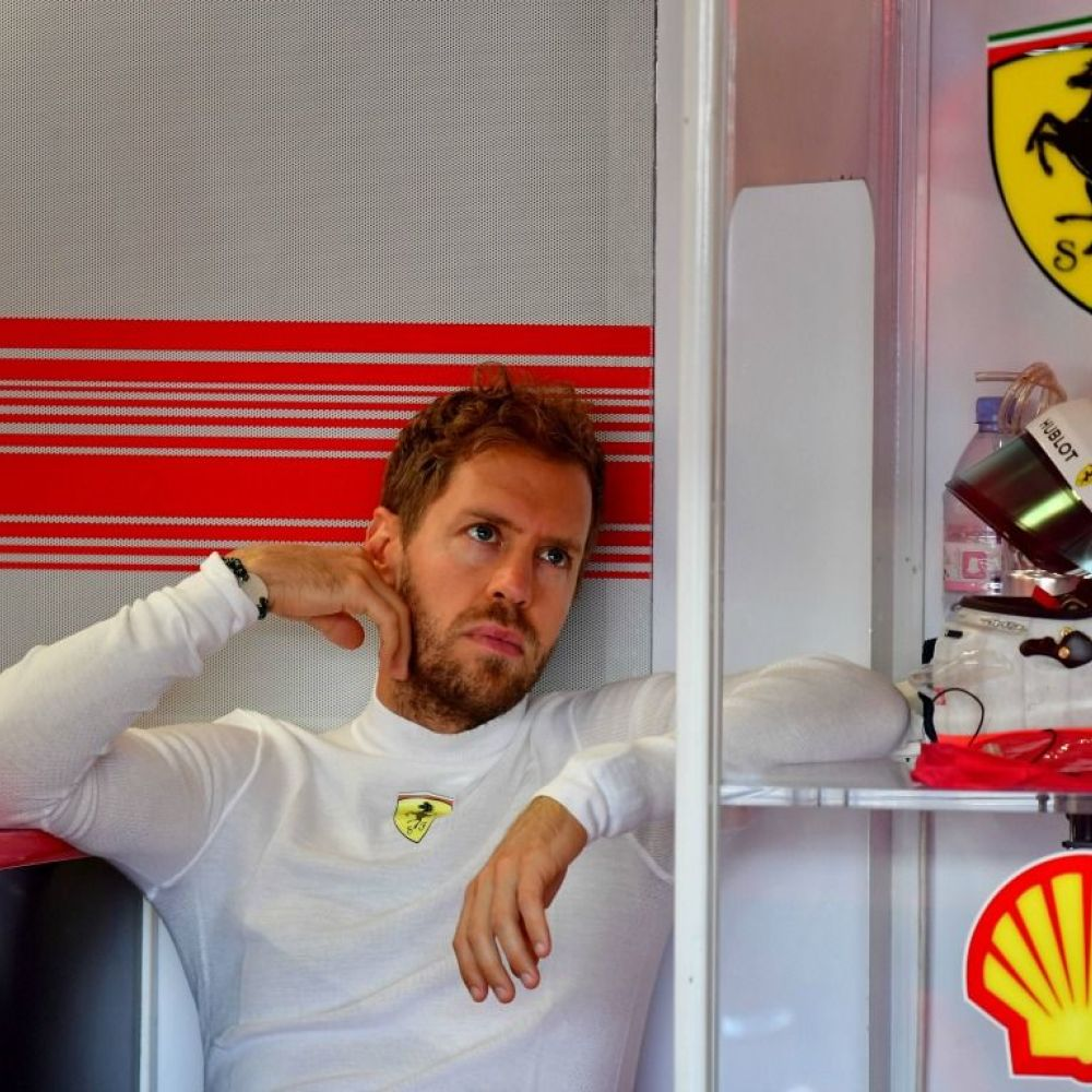 Injured neck gave Vettel qualifying concerns