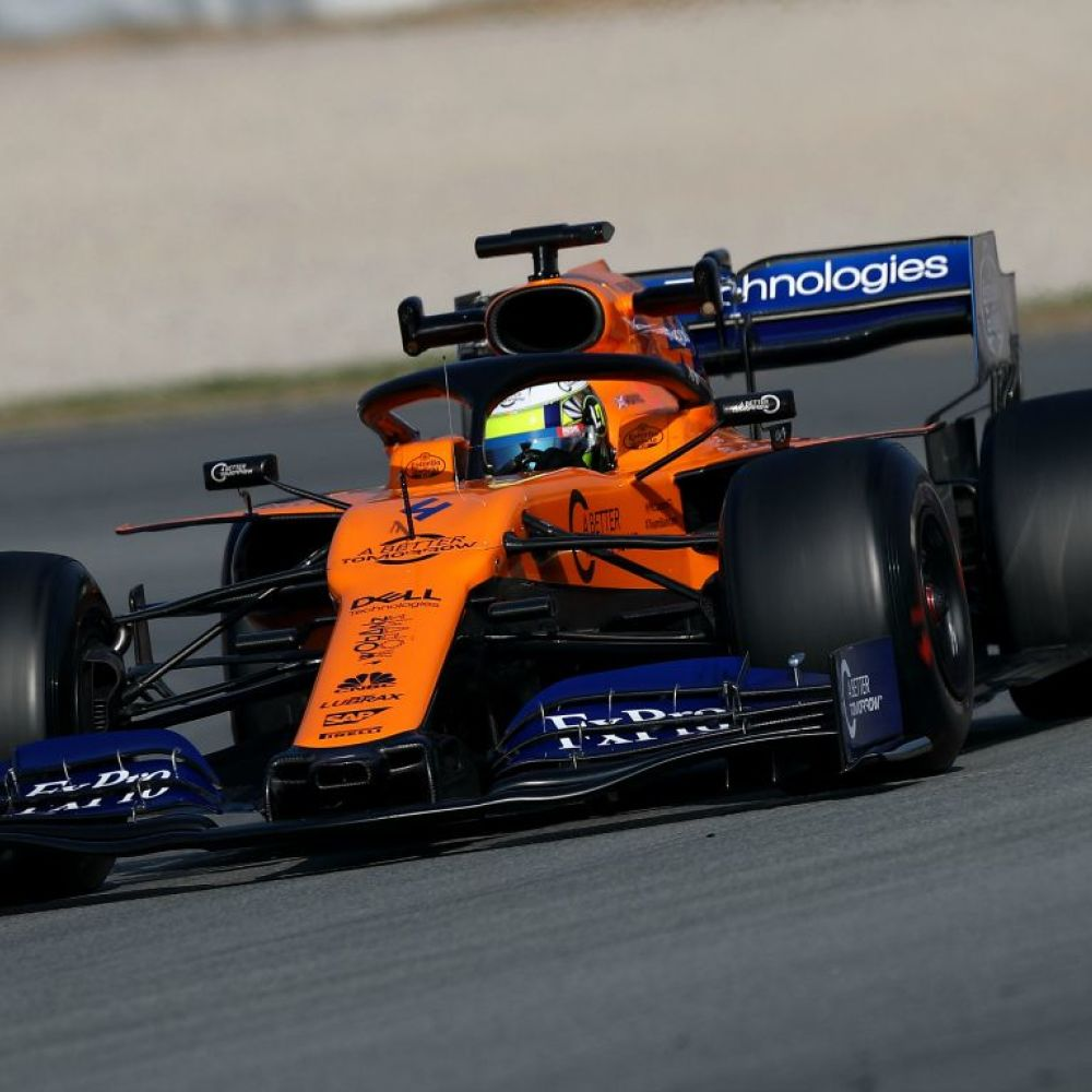 McLaren's MCL34 catches Newey's eye