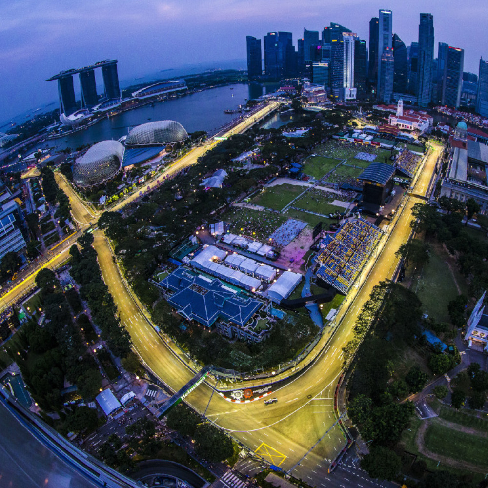Third DRS zone added to Singapore GP circuit