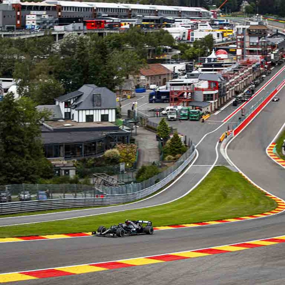 Drivers' prayers answered with return of gravel at Spa
