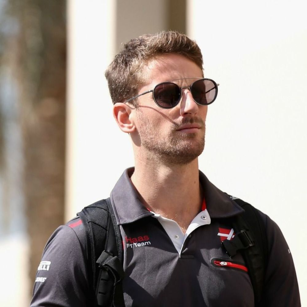 Grosjean wants to be in F1 until he is 40